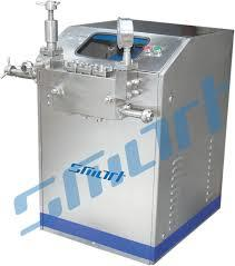 High pressure Homogenizer  A homogenizer is a piece of laboratory or industrial equipment used for the homogenization of various types of material, such as tissue, plant, food, soil, and many others. Many different models have been developed using various physical technologies for disruption