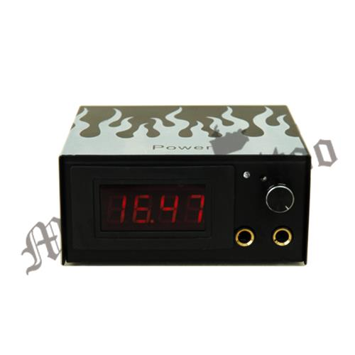 MUMBAI TATTOO SUPPLIES  LCD 4 Digit Power Supply This is LCD 4 Digital Tattoo Power Supply. It decorated appearance, elegant and generous, stable performance! Item Code : PS-4Digit  This is LCD 4 Digital Tattoo Power Supply. It decorated appearance, elegant and generous, stable performance!  More about LCD 4 Digit Power Supply  This is LCD 4 Digital Tattoo Power Supply. It decorated appearance, elegant and generous, stable performance!  Features  Guaranteed for  quality Durable, a good aseismic capacity Beautiful flame pattern on the surface, more personalized look Long working hours is not hot Smooth appearance and exquisite handcraft General-purpose microphone jack Fit for all tattoo machines worldwide Specifications  Color   = Black Frame Material   = Iron Display   = LCD Display Input voltage   = AC 60V - 250V; 50HZ - 60HZ Output voltage =   DC 0-15V Output current   = 2A Length of power cord =   61 inch / 155cm Power Supply Dimensions =   4.72 x 3.98 x 2.24 inch / 12 x 10.1 x 5.7 cm Weight   = 173g MRP - 1799/-RS