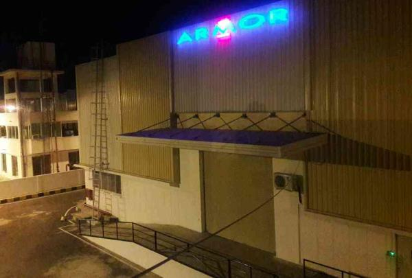 acrylic LED letters install in in Baddi LED with acrylic designing best quality 5 years warranty