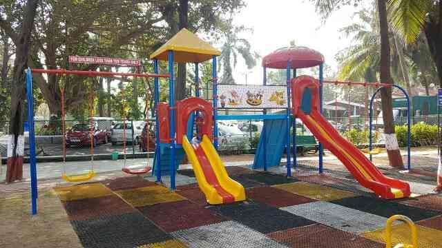 Royal Play Equipments has successfully installed Children Playground Equipments at US Club, Colaba, Mumbai.