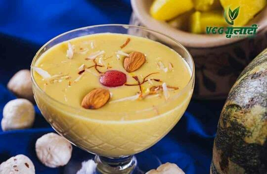 Veg Gulati Restaurant, Pandara Road   To end your meal on a sweet note, we've prepared a special Dessert for you, Petha & Makhana Kheer. Light, refreshing yet delicious!