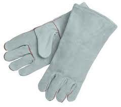 We  manufacturer, supplier and exporter of Leather Handgloves In Mumbai . These products are designed to prevent the hands from cuts, bruises and burns while working with sharp, toxic, severely cold, electrical and extremely hot things. Making use of Kevlar, asbestos, neoprene rubber and other high quality raw material, we manufacture our range of hand protection safety products. In our store, we have Stainless Steel Gloves, Cut Resistance Gloves, Kevlar Knitted Hand Gloves, Hosiery Hand Gloves etc. in different sizes under this category. The Hand Protection gloves are specially made of PVC and nylon fiber with full finger design, offering real feel within the fingers. Moreover, implementation of open style elastic cuff permits easy access of finger even after wearing these gloves. Our products ensure full safety and security of fingers while doing chemical and construction work. Ventilating spandex assures a super comfort fit while the supple and soft material of hand gloves ensures finger dexterity. Moreover, tight and elasticized cuff of our protection gloves keep them free from any kind of moisture content. Features of our offered Hand Protection Gloves:  Exceptional comfort Reduced hand fatigue Keeps hands sweat free No puncture & abrasion resistance Anti-slip material Ventilating and Dexterity Hidden seam design+