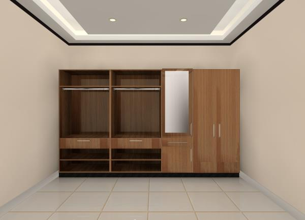 BLK Lifestyle Ltd  3D of Wardrobe in Highgloss laminate