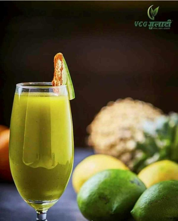Make the most out of Mangoes this summer!  Slurp on this refreshing Aam Panna at Veg Gulati to get over the scorching summer sun. #BeatTheHeat