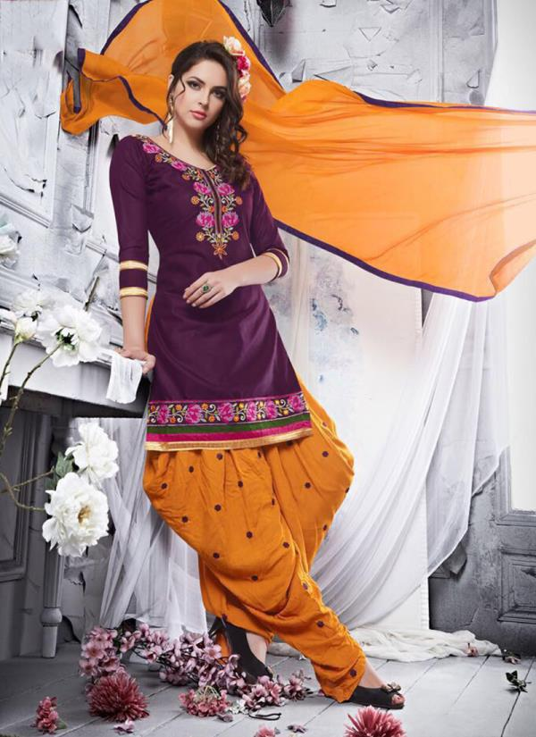 Wine-Color Embroidered Cotton Punjabi Patiala Suit   ₹ 798.00  Wine Color Embroidered Cotton Punjabi Patiala Suit (Unstitched)  DAILY WEAR COTTON PATIALA SUITS   Wine Color Embroidered Cotton Punjabi Patiala Suit   Material Details :-  Top :- Cotton  Bottom :- Cotton   Dupatta :- Chiffon   Product Type :- Embroidery Cotton Punjabi Patiyala Suits   http://www.frozaz.com/in/p/Wine-Color-Embroidered-Cotton-Punjabi-Patiala-Suit/969