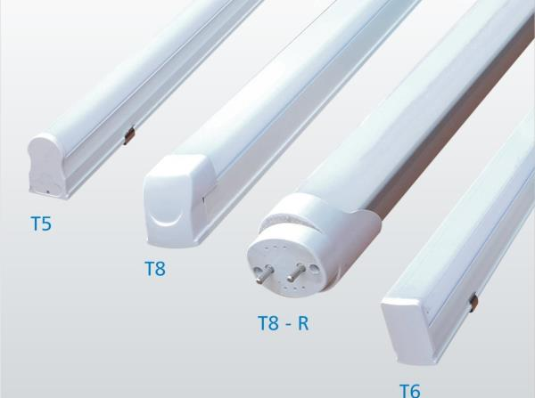 LED TUBE LIGHTS  LED tube is a modern source of light used in fluorescent lamp luminaires with G5 and G13 bases in place of traditional fluorescent tubes.[1] As compared to fluorescent tubes, the most important advantages of LED tubes are energy efficiency and long service life. LED tubes are sometimes also referred to as 'LED fluorescent tubes', but since the light actually comes from LED components and the tubes contain no fluorescent substance, 'LED tube' is more correct.