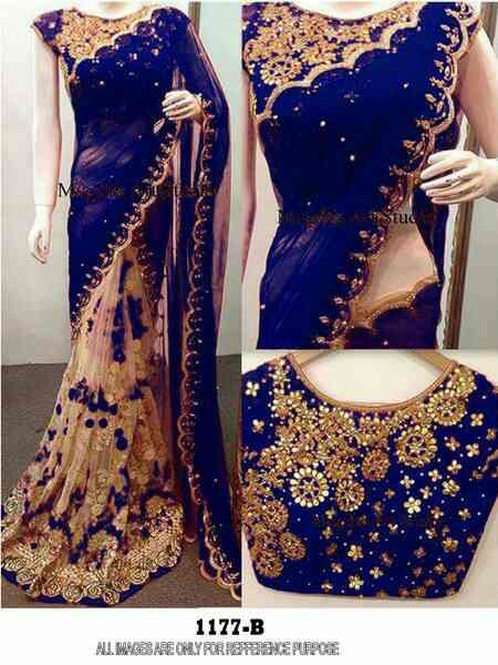 stylish latest saree very demandable saree contact us on WhatsApp number 890 5 to 35275  DN : 1177 PALLU: Georget Skt: net Blouse: banglori silk Rate:1190₹  1st copy if want nx og Rs 1350 /-   *WE SUPPORT, U CAN?*  SWATCHA BHARAT BETI BACHAO BETI PADHAO INDIA AGAINST CORREPTION SAY NO TO CHILD LABER MAKE IN INDIA SAVE WATER  *YOUR OWN ONLINE SHOP*