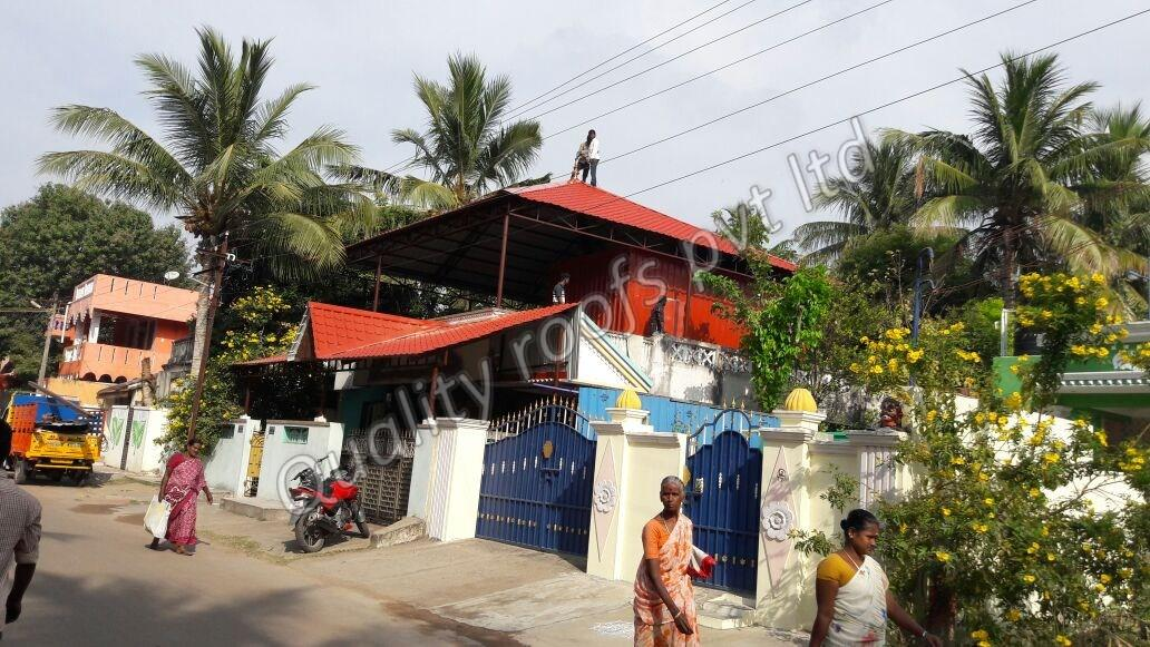 Roofing Comapnies In Chennai          We are the Leading Roofing Companies In Chennai. The client's requirement is given the top priority and discussion is held on the various practical aspects with the client before finalizing the project. Right type of roofing solutions are offered to the client and based on their need, preference, and affordability, the project is finalized. Aspects such as natural lighting, excellence in work, sound as well as thermal factors are taken care of while executing the project.        The roofing companies in Chennai can undertake jobs like metal roofing, thermal insulation, galvalume roofing, and false ceiling apart from the regular roofing. Designs and aesthetic look are planned based on the budget of the clients