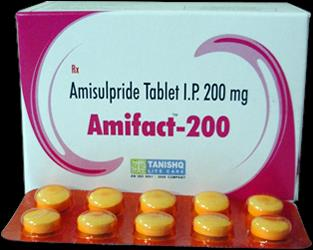 AMIFACT-200  Amisulpride 200mg Tablet  We are looking for dealer and distributor of our products.  Contact Mr.Jigar +91 9429307011