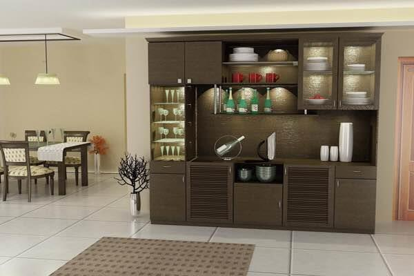Manage your glassware, crockery collection in a simple yet stylish manner. Get more of well utilized space of your dining area, kitchen or living room with elegant crockery unit at LEBONAH. Crockery units are made to make your dining area look more elegant, well managed, sharp and amazing. They are not just installed to put in the glass stuff but also to exhibit the best of your crockery collection to your friends and family in a modern and cool way.