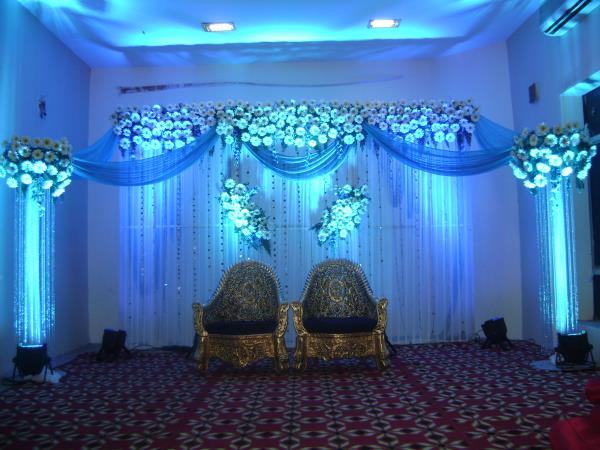 OM SAI CATERERS AND EVENT PLANNERS our exclusive decorations for marriage functions.. Innovative setups