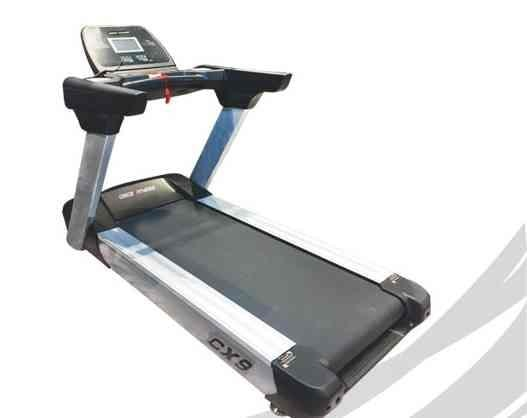 Fantastic commercial treadmill at a GREAT price! New age design, 3 HP AC Heavy duty motor with LCD window display, aluminium alloy side posts and rails. Max user weight of 180 kg. Call 9088996161 for more information. Visit www.energiefitnessshop.com Supplier of commercial and residential treadmills and other fitness equipment