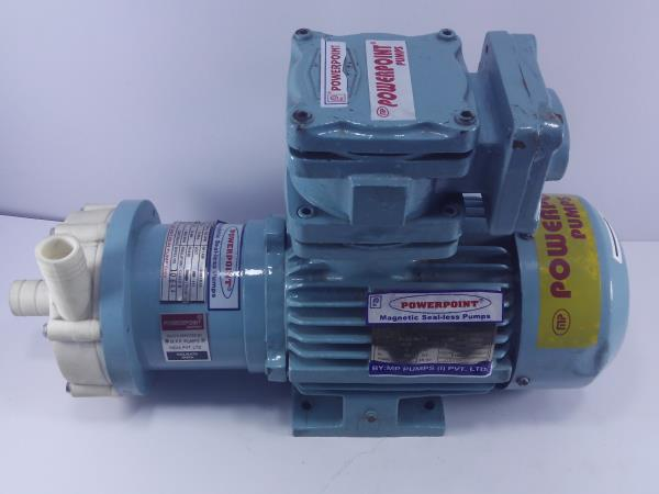 Our Explosion proof pumps are used in various applications where flameproof motors are mandatory.These pumps are available in various constructions like pp, ss, ci etc