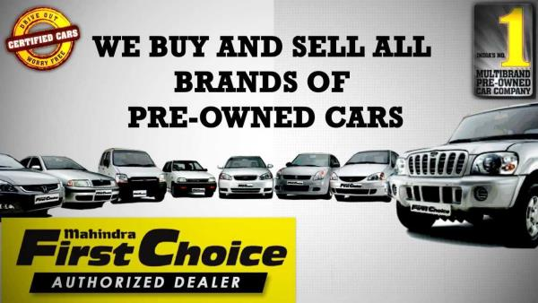 Best choice for Used Car is Mahindra first choice. All Brands of Pre Owned Cars are available @Carestate