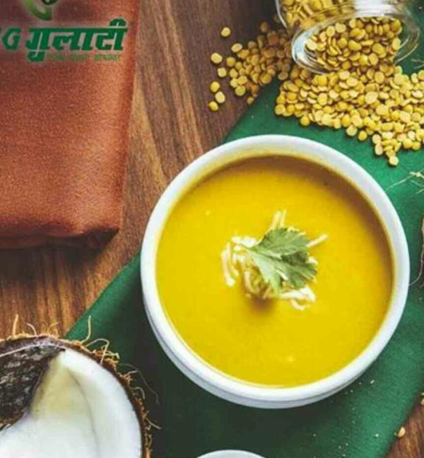 Need a reason to start your meals with a soup?  Presenting, Mulligatawny Soup, a delicate puree of lentils flavored with traditional Indian spices to get you drooling. <br/><br/>#veggulati #summers #soup #lentils #meal #hearty #food #eat #foodporn #hungry  #f52grams #indian #newdelhi #l4l #f4f #instafood #instagood #drool #instagram #picoftheday #foodgram #dfordelhi #foodtalkindia #dilli #sodelhi