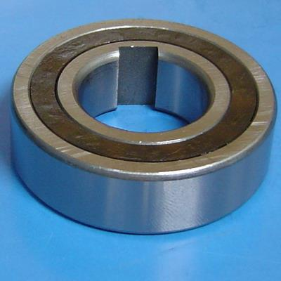 Available One Way Clutches Bearings CSK Series (One-Way Bearing) The CSK model freewheel is a sprag type clutch integrated into a 6200 series ball bearing (except sizes 8 and 40). It provides you with a one way clutch, and eliminates the need for a ball bearing. It gives a high degree of freewheeling accuracy while utilizing a minimum of space. The CSK model freewheels can be used in backstop, overrunning or indexing applications.  CSK freewheels have the outer dimensions of type 62 ball bearings. On the side of the balls, sprags are mounted. The sprags and balls are arranged in a plastic cage to hold them. The CSK freewheels have the same characteristics as ball bearings and additional bearing is not necessary.  One way Bearings Model Numbers without Key CSK8, CSK12 , CSK15, CSK17, CSK20, CSK25, CSK30, CSK35, CSK40 With One Key CSK8P, CSK12P , CSK15P, CSK17P, CSK20P, CSK25P, CSK30P, CSK35P, CSK40P With 2key CSK8PP, CSK12PP , CSK15PP, CSK17PP, CSK20PP, CSK25PP, CSK30PP, CSK35PP, CSK40PP  Brands Available in OneWay Bearings are Stieber Germany, Tsubaki Japan , CTS Italy