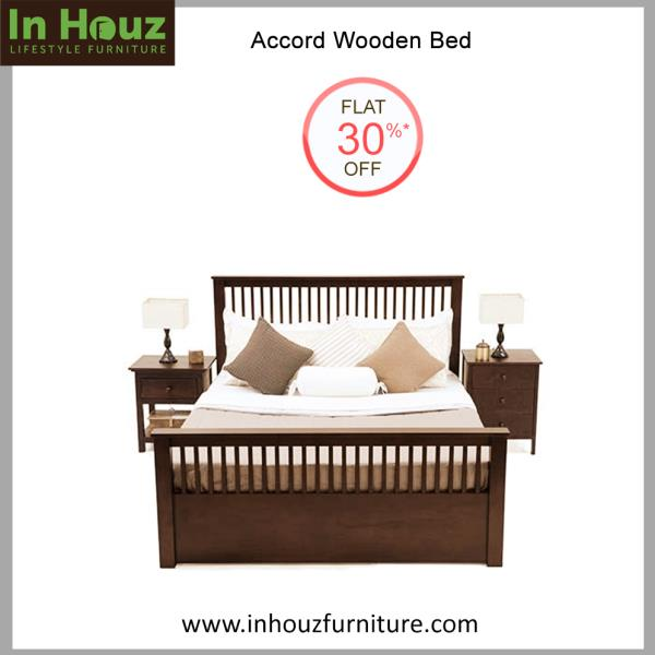 Wooden Bed Set  The masterpiece for your Master Bedroom.   Get Customized Storage Beds with Wooden Bedside Tables, handcrafted from premium Solid Wood and add up the grace to your Home Interiors at the Lowest Prices On Furniture in India.   Shop for Latest Designs and wide range Of Solidwood Bedroom Furniture, Wooden Bed Sets, Wooden Bedside Tables, Wooden Wardrobes Wooden Chest Of Drawers and many more.  Shop Furniture Online from our Online Furniture Store www.inhouzfurniture.com