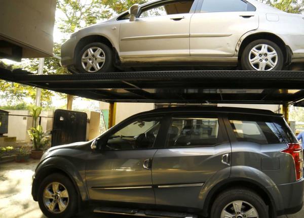 Rachna Elevator Car Parking System...!! - by Rachna Elevators & Conveyors +919311423455, Delhi
