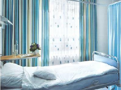 Hospital Curtains in Delhi | WindowTechs.co.in  Windowtechs.co.in offers the best selection of high quality privacy, cubicle and hospital curtains for all of your applications that require privacy and seclusion. Privacy curtains are commonly used in the medical and commercial industries where they serve as hospital privacy curtains, doctor's office privacy curtains, dressing room curtains and even to give privacy to cubicles in offices. The curtain fabrics we offer combine safety, style, ease of care and affordability. The construction of these privacy curtains ensures the look that is desired coupled with long curtain life, resulting in value for the customer. While these curtains are commonly used in hospitals, clinics and other medical facilities, they offer function and fashion for a wide array of applications. They can be made with or without the mesh at the top, depending on your specific needs and fire code requirements. We also offer curtain tracks for privacy and hospital curtains.   Flame Retardant Curtains  All cubicle curtains are fabricated using fabrics that pass NFPA 701 testing, the most stringent national standard. Please consider all local codes however, to ensure you meet all requirements (e.g. some areas require the use of drops in lieu of mesh to ensure appropriate coverage of sprinkler systems.   Curtain Construction  All cubicle curtains are constructed with a triple thick 1& half incher header sewn with a double needle Safe-T-Lock stitch, making the curtains practically tear proof. This stitching technique eliminates unraveling and raw edges, providing enduring strength. Fabric patterns are always matched to provide excellent appearance, and each curtain undergoes a 7 point inspection process prior to approval for shipment. Curtains are typically sewn with rust proof nickel plated brass grommets on 6 inch centers across the header, although customer specifications can be accommodated. Curtains are constructed in any height and come in increme