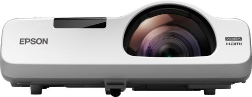 Short throw projectors from Epson for Schools, Colleges.  Epson EB 536wi is a HD ready Interactive projector.  3400 lumens color and white brightness,  1280 x 800 pixels WXGA resolutions,  16000:1 contrast ratio,  16W built in speaker,  Sho - by Viewtech Imaging Systems Call 04039594510, Hyderabad