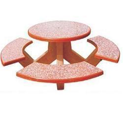 Cement Concrete Garden Furniture Manufacturer in Delhi, Gurgaon, Noida, etc Keeping in mind the diverse requirements of our clients we are involved in offering a wide range of Cement Concrete Garden Furniture. These have fine finishing and are extensively used in gardens and farm houses, schools, hospitals, colleges and many more places. Our products are manufactured using fine quality material and latest technology. Moreover, we assure our clients to deliver these products in given period of time.  Features:         Fine quality     Affordable prices     Timely delivery