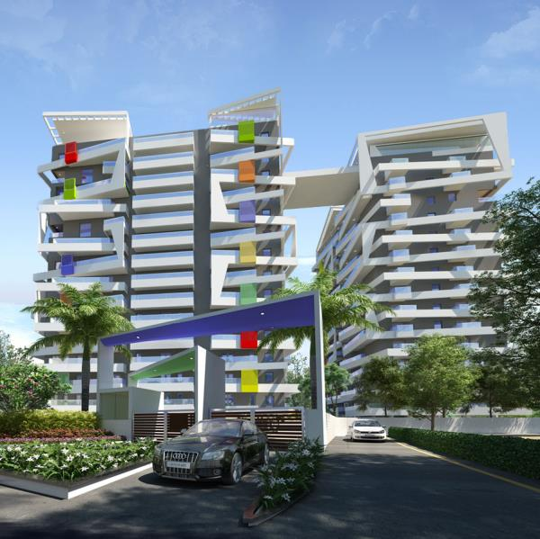 APARTMENT WITH MODERN AMENITIES in bolar mangalore   Green County