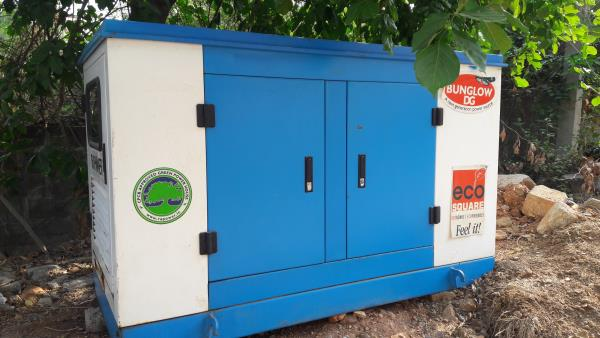 Diesel Generator with AMF panel on rental for Restaurant power back-up at BTM Layout Bangalore.