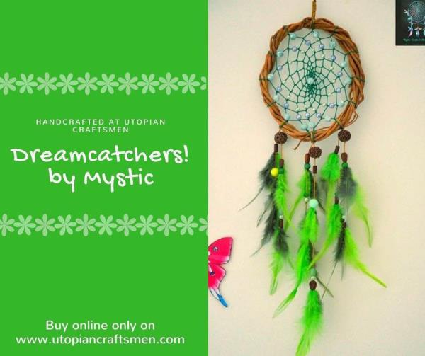 Buy Dreamcatchers Online In India. These beautiful handcrafted Native American Dreamcatchers only on www.utopiancraftsmen.com. Decir your home with our exclusive Dreamcatchers.
