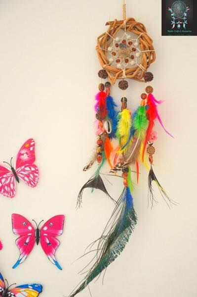 Native American Handmade Dreamcatchers now in India. Buy these beautiful Dreamcatchers online only on www.utopiancraftsmen.com