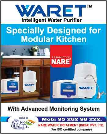 Waret Intelligent Water Purifier is now more affordable. Price starting from Rs.990/-