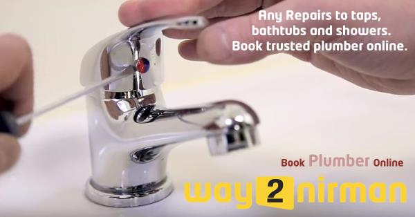 Any repairs to taps, bathtubs and showers. Book trusted plumber online.