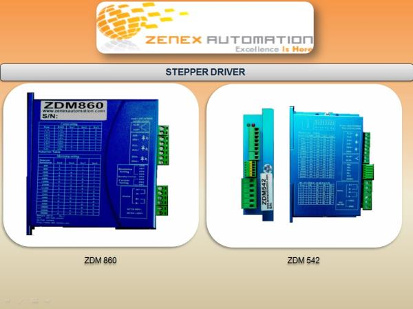 Leading Supplier for ZDM860 stepper driver in Ahmedabad, Gujarat, India.  Leading Supplier for ZDM542 stepper driver in Ahmedabad, Gujarat, India.  give a best performance stepper drives in gujarat. Bipolar Stepper Driver AC and DC Input Supply.
