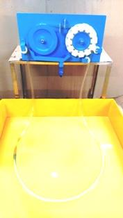 Tube Skimmers remove, recover and recycle waste oil from water surfaces with a floating tube. Tube Skimmers can be used for small indoor tanks and sumps to large outdoor basins and ponds. Tube-type oil skimmers are designed to ensure consistent, even operation, regardless of the application.