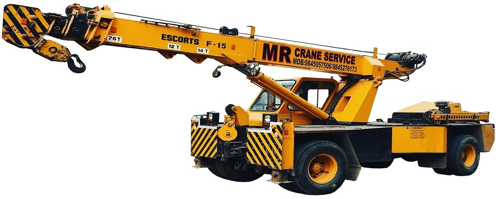 M R CRANE SERVICE is a leading provider of high-performance hydraulic cranes, telescopic cranes, mechanical crawler cranes, truck mounted cranes, hydras cranes, forklifts, trailers odc transport, lattice boom truck cranes, hotmix plants, asphalt plants, drum mix plants for use in all kinds of industrial applications. M R CRANE SERVICE is the most diverse specialist equipment rental company. provides equipment rental and contract management services to key businesses in BENGALURU AND KARNATAKA.  We provide cranes of different brands, including Kato, Grove, Demag, Tadano, Gottwald, P& ;H, Unique and Til. Clients across thermal plants, cement plants, nuclear plants and construction areas also demand Telescopic cranes. Grapple Cranes.  Hydraulic Mobile Cranes. Bucket Crawler Cranes. Cherry pikers cranes. Boom lift cranes. provided by us, are capable of handling 20 tones to 500 tones capacities. lifting (up to 30 floor)  We provide our service only within 100 km of BENGALURU