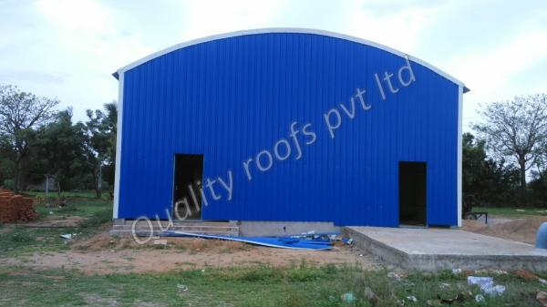 Factory Shed Roofing Solution        We are offered Factory Shed Roofing Solution. This can be effectively introduced and disassembled as per the customer requirements of use. This can be availed at leading market rates at the vendors end. These sheds are easy to install and are available in customer's given specification to make them avail the desired product. we are the leading Steel Roofing Contractors In Chennai.
