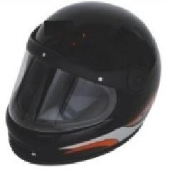 A motorcycle helmet is a type of helmet used by motorcycle riders. The primary goal of a motorcycle helmet is motorcycle safety - to protect the rider's head during impact, thus preventing or reducing head injury and saving the rider's life - by R S Enterprise, Kolkata