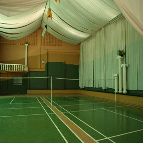 PVC Indoor Sports Flooring  We Sundek Sports Systems are manufacturers of  PVC Indoor Sports Flooring in Indore.  As well as in India. We are one of the leading companies which are extensively engaged in the supply of several supreme quality PVC Indoor Sports Floorings in the market. This product is the best available alternative for wood and is in fact a better option as the product is extremely easy to maintain.  Features:      Highly efficient performance     Resistant to corrosion     sophisticated look