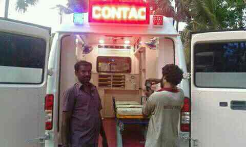 ICU ambulance  Indian 🚑 service