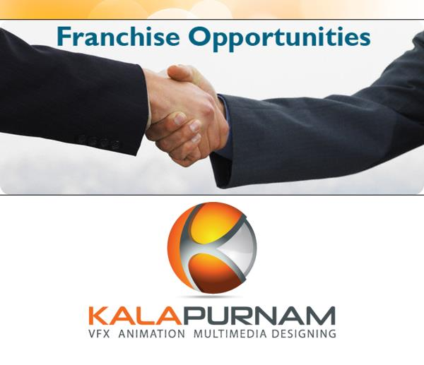 Franchise Gujarat - Business Opportunities, Franchise Opportunities   Kalapurnam Institute provides best quality training with highest job placement for Visual Effects, Animation, Multimedia, Graphic, Architecture, Interior, Fashion Design and Digital Photography courses at C. G. Road, Navrangpura, Ahmedabad since 2006.now grow with us .  Call 09824222888.  Moe information click on: http://http://kivaindia.com/