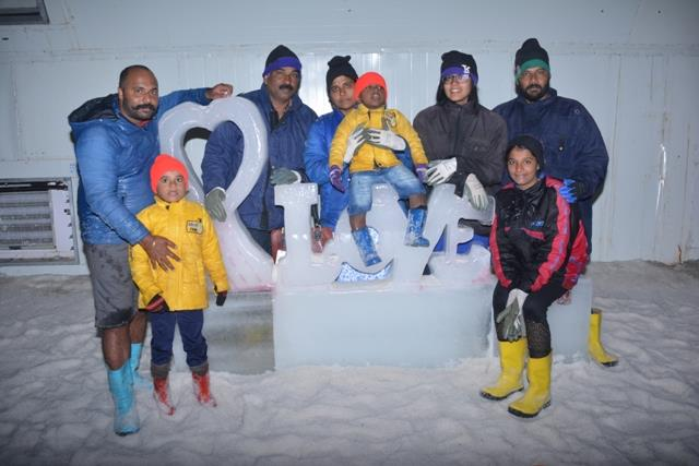 Fun, enjoyment, playing with snow, #Ice_Bar and much more only at #Snow_Park_Goa. For more details visit www.snowparkgoa.com or call us at 9595 420781