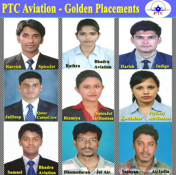 Airport Jobs  PTC Aviation Academy is India's Top.No.1 gives 100% Job Assurance not Just Job Assistance like all other institutions.  1.When you want to work in Airport & Airline, have related diploma / certificates to get shortlisted in the interviews. 2. When you want to Select the Aviation Institutes - verify them whether are they giving Job Assistance or Job Assurance ??  PTC Aviation Academy Ranked Top.No.1 in India for giving Training and Job Placements in Aviation Industry.  PH: 7200015600, 7604881124, 044- 22410079, 7200023412