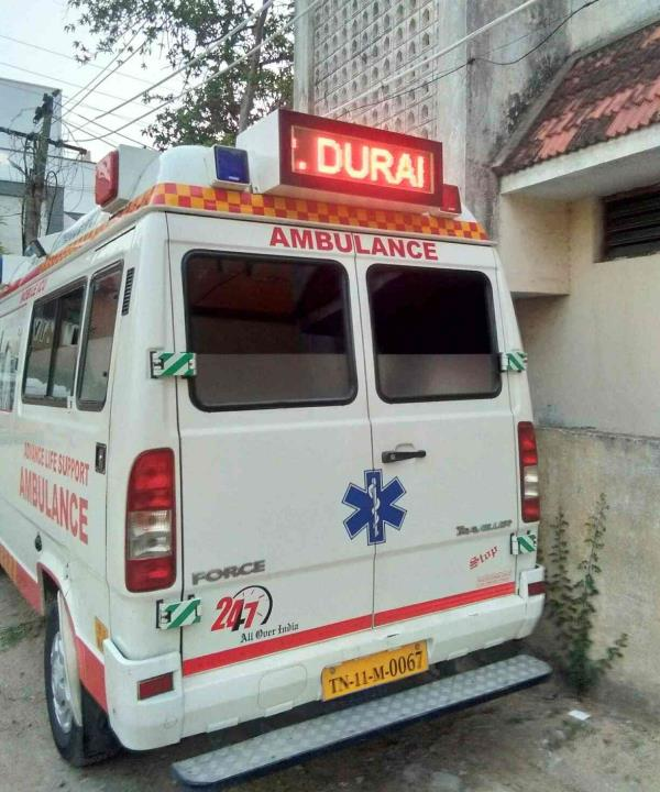 ICU ambulance service Chennai godprovides Indian ambulance service
