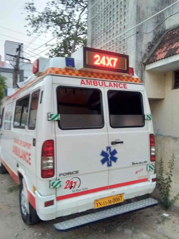 24herce service Chennai ICU ambulance service provide best service