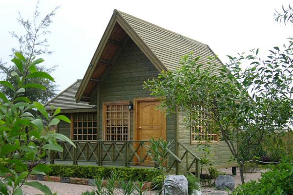Farm House Cottage with greenery effect . Our Wooden Cottages are offered to the esteemed customers at industry on economical  prices. These Wooden Cottages are designed and manufactured as per clients' requirements, with the help of our team of experts.