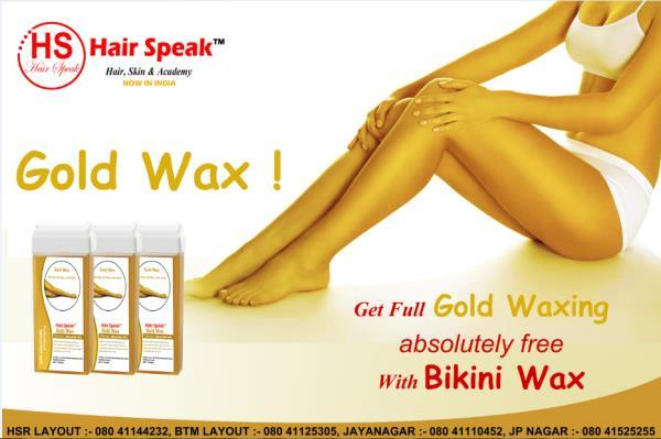What we are saying is we make sure our waxing is smooth, painless and hygienic in  Bangalore.Find Waxing Salons in Bangalore at Hair speak. Book Appointment & Check Price list, Rate cards or more details visit our store .Also you will find full body waxing Deals in bangalore - Best discount coupon and voucher.