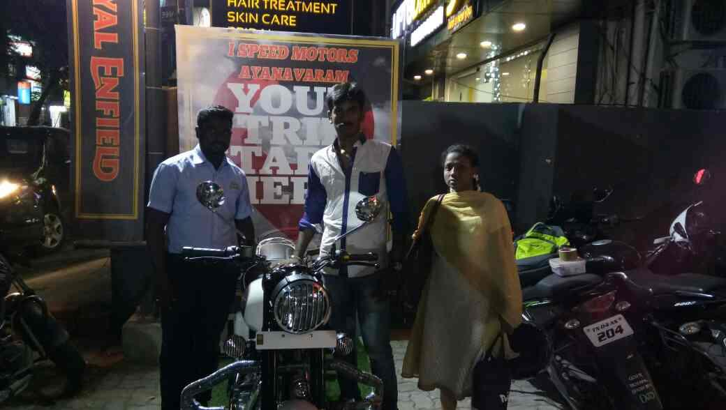 Classic 350 ASH Delivered From Royal Enfield I Speed Motors Ayanavaram To Mr. Vinoth Kumar