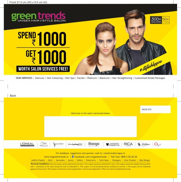 Style Extra Offer Green Trends MUDICHUR WEST TAMBARAM - Green trends change of hairstyle