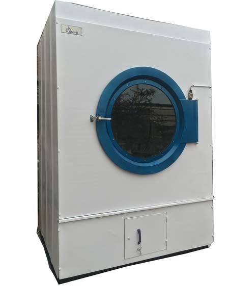 Tumble Dryer : We maintain the superior quality of S.S 304 and a large glass door with dual motors, safety limit switch and emergency stop buttons.