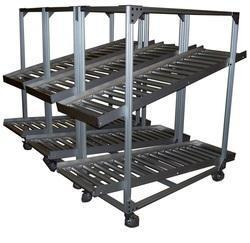 Material Handling Racks Manufacturer In Bangalore  Material Handling Racks is equipment that relates to the movement, storage, control and protection of materials, goods and products throughout the process of manufacturing, distribution, consumption and disposal. We are manufacturer and supplier of Material Handling Racks for all your need of material Handling. Our offered material handling racks have come a long way in establishing itself as a market leader, meeting the ever-changing needs of clientele through a continuous up gradation of products and their features.  Material Handling Rack is used to increase output, control costs, and maximise productivity in a storage and racking system. It is the mechanical equipment involved in the complete system.   Categories: Storage and handling equipment Engineered systems Industrial trucks Bulk material handling Features: Corrosion resistant Highly durable Easy to maintain Adjustable shelf levels Available in various designs