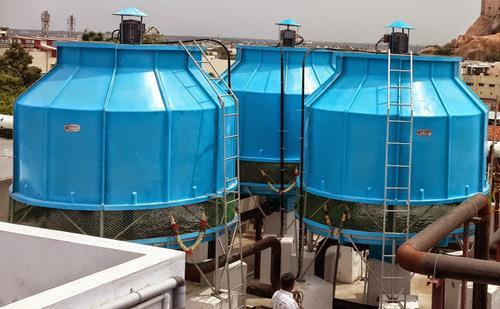 FRP Round Shape Cooling Towers    With an objective to fulfill the diversified requirements of the clients, we are engaged in offering an array of Frp Round Shape Cooling Towers. These cooling towers are used in various industries